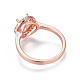 Environmental Brass Finger Ring Components(MAK-F030-12-NR)-4