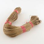 1mm LightKhaki Waxed Cotton Cord Thread & Cord(YC115)