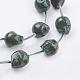 Natural Pyrite Beads Strands(G-P340-16B)-3