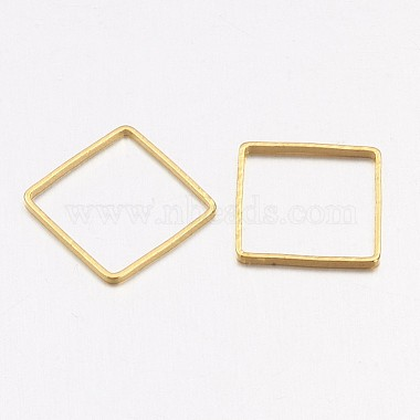 Square Brass Linking Rings(X-EC03015mm-NFG)-2
