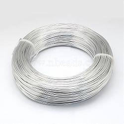 Fil d'aluminium, argenterie, 6.0mm; 7m / 500g(AW-S001-6.0mm-01)