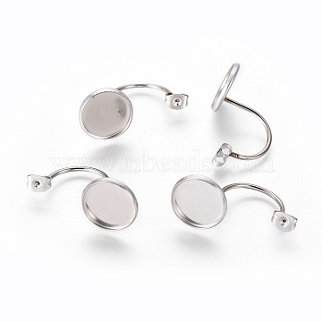Stainless Steel Color Stainless Steel Ear Nuts
