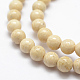 Natural Fossil Beads Strands(X-G-K209-04E-8mm)-3
