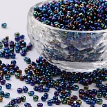 3mm PrussianBlue Glass Beads(SEED-A009-3mm-604)