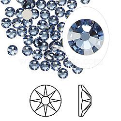cristal autrichien cabochons de strass, passions de cristal, déjouer retour, Xirius rose, 2088, 266 _denim bleu, 3.8~4 mm(X-2088-SS16-266(F))