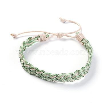 DarkSeaGreen Waxed Cord Bracelets