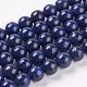 Natural Lapis Lazuli Beads Strands(G-G087-10mm)-1