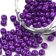Baking Paint Glass Seed Beads(SEED-Q025-4mm-M15)-1