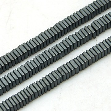 3mm Square Non-magnetic Hematite Beads