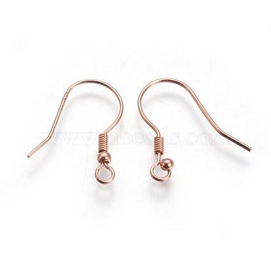 Rose Gold Sterling Silver Earring Hooks