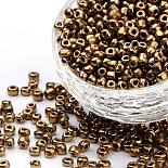 4mm Chocolate Glass Beads(SDB4mm601)