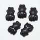Natural Black Agate Pendants(G-T122-14A)-1