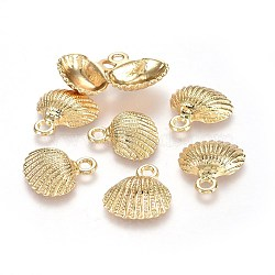 Real Gold Filled Shell Alloy Pendants(X-TIBEP-A040-004G-NR)