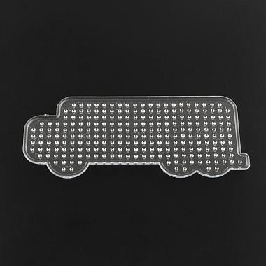 Lorry/Truck ABC Plastic Pegboards used for 5x5mm DIY Fuse Beads(DIY-Q009-48)-2