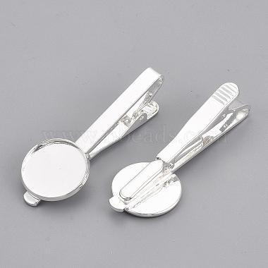 Brass Tie Clip Cabochon Settings(X-KK-S750-04S)-2