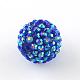 ab-perles de couleur strass de résine(RESI-S315-20x22-17)-2