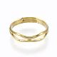 Adjustable Brass Finger Rings(RJEW-F086-01G)-1