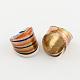 Handmade Gold Sand Lampwork Wide Band Rings(RJEW-Q150-M13-B)-2