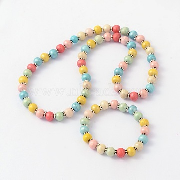 Colorful Wood Bracelets & Necklaces