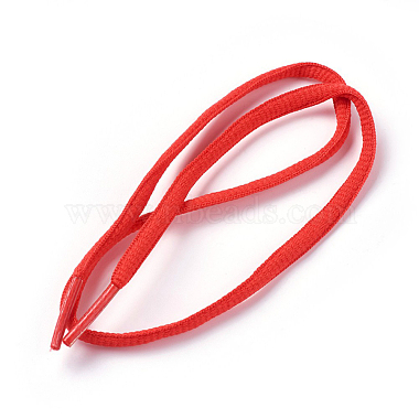 Red Polyester Shoelace