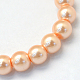 Baking Painted Pearlized Glass Pearl Round Bead Strands(X-HY-Q003-4mm-18)-2