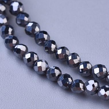 Terahertz Stone Beaded Necklaces(NJEW-K114-A-A22)-2