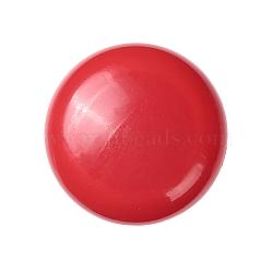 aimants de bureau, aimants ronds pour réfrigérateur, pour tableaux blancs, casiers et réfrigérateur, rouge, 29x9.5 mm(AJEW-E043-01A-01)