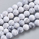 Natural Howlite Beads Strands(TURQ-G091-6mm)-1