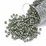 2mm DarkOliveGreen Delica Beads(DB) Glass Beads(SEED-S015-DB-1566)