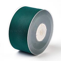 Rayon and Cotton Ribbon, Twill Tape Ribbon, Herringbone Ribbon, Dark Slate Gray, 1 inches(25mm); about 50yards/roll(45.72m/roll)(SRIB-F007-593-25mm)