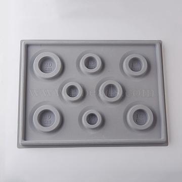 DarkGray Plastic Bead Design Boards