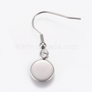 Stainless Steel Dangle Earrings(X-EJEW-WH0001-A05)-2