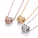 304 Stainless Steel Pendant Necklaces(NJEW-I232-30)-1