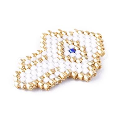 Handmade Seed Beads Pendants(SEED-I012-13A)-3