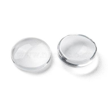 Transparent Glass Cabochons(X-GGLA-R026-10mm)-3