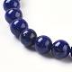 Natural Lapis Lazuli Beads Strands(X-G-G087-6mm)-3