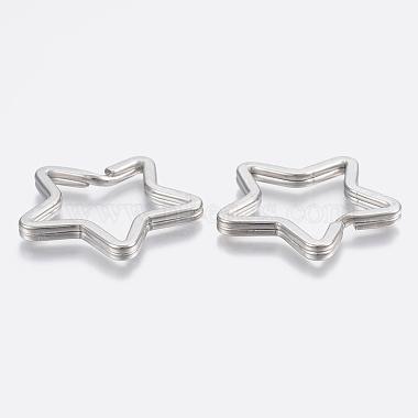 304 Stainless Steel Split Key Rings(X-STAS-P197-036P)-2