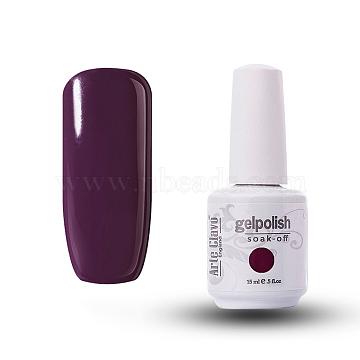 15ml Special Nail Gel, for Nail Art Stamping Print, Varnish Manicure Starter Kit, Indigo, Bottle: 34x80mm(MRMJ-P006-D007)
