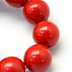 Baking Painted Glass Pearl Bead Strands(X-HY-Q003-5mm-55)-3