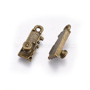 Antique Bronze Electrical Appliance Alloy Pendants