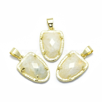 Golden Others Moonstone Pendants