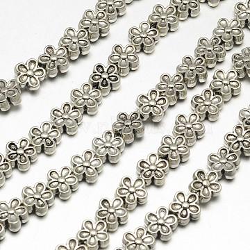 7mm Flower Alloy Beads