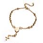 Stainless Steel Bracelets(X-BJEW-E282-02G)