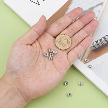 316 perles d'espacement chirurgicales en acier inoxydable(X-STAS-N032-06P)-4