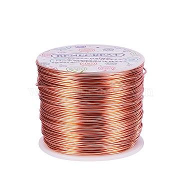 1mm DarkSalmon Aluminum Wire