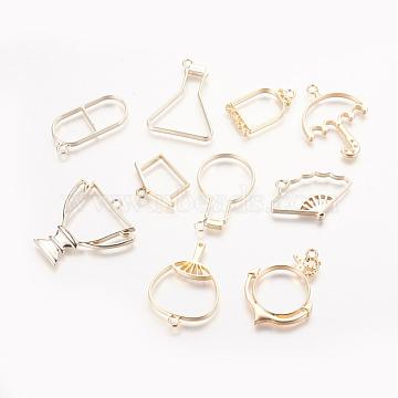 Golden Others Alloy Pendants