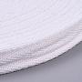 White Cotton Ribbon(OCOR-WH0032-49B)