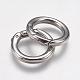 304 Stainless Steel Spring Gate Rings(STAS-O114-023P)-2