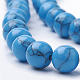 Synthetic Turquoise Beads Strands(G-S295-11B-8mm)-3