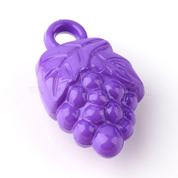 BlueViolet Fruit Acrylic Pendants